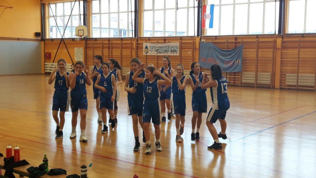 Počela košarkaška liga djevojčica zapad 2007. godišta i mlađe.